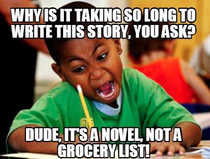 How Long to Write Novel