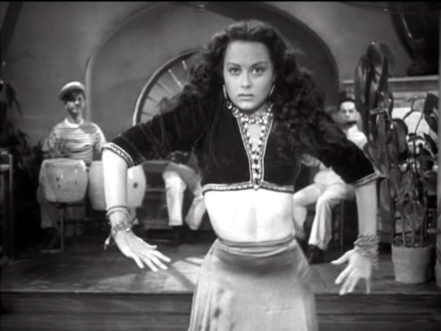Adela Mara dances as Lisa in THE VAMPIRE'S GHOST